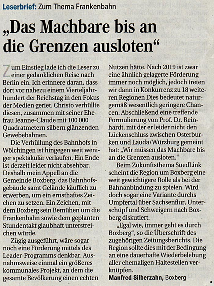Leserbrief vom 7.5.2019 FN